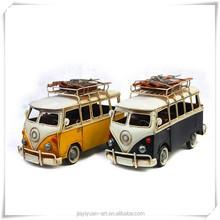 Factory Price Retro Mini Bus Model, Collection Bus Model, School Bus Model for Lovers collection