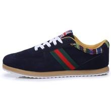 2015 Wholesale Hot sales comfort designer top brand suede men casual shoe