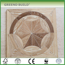 Ash white washed interior parquet wood floor tiles