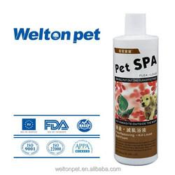 2015 New Flea and Lice Elimination Bath Foam dog shampoo