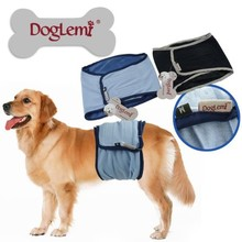 Trade Assurance DogLemi Washable Dog Diapers Pants Cheap Dog Diapers for XS to XL Extra Large Male Dogs