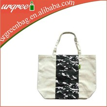 Straw Tote Bags Wholesale With Camouflage Pattern