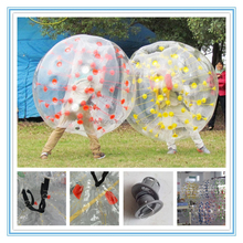 Design inflatable ball suit,walk in plastic bubble ball,inflatable human sized hamster ball