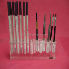 high quality handmade acrylic eyebrow pencil display