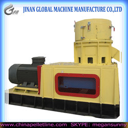 Flat Die Pellet mill with Auto Lubrication System