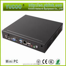 Intel Pentium Baytrail Quad-core CPU 2.4--2.6GHz processor Mini pc station/host