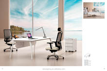 Cheap modern executive desk,simple office table design