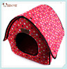Foldable house design dog house puppy bed dog bed with dots