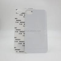 Hot selling blank Sublimation Flashing LED Phone Case for I4