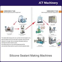 machine for making chemical product silicone sealant