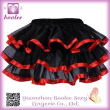 Tul Mini Faldas PP7316 venta caliente mini falda sexy para mujeres