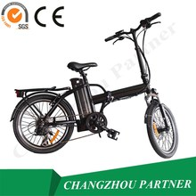 2015 lithium battery foldable electric bicycle with hiding battery inside of the frame electric bicycle