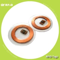 FOT NTAG203 NFC inlet 13.56kmz chip antenna for rfid logistic system ( GYRFID )