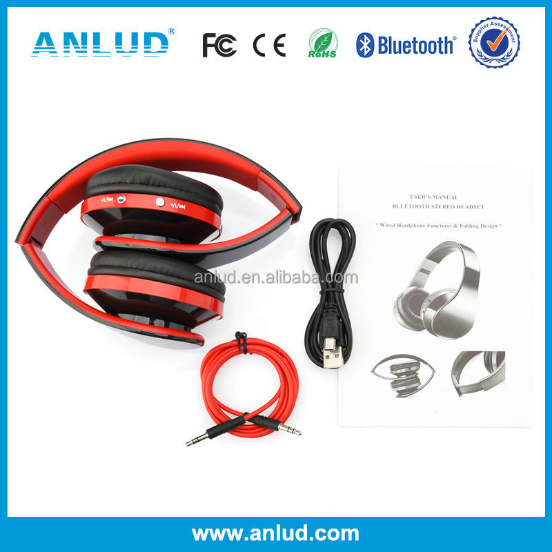 ALD06 Fashion design colorful mobile phone wireless bluetooth headphone