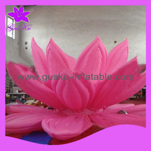 Gus-LT-196 giant inflatable flower stage decoration