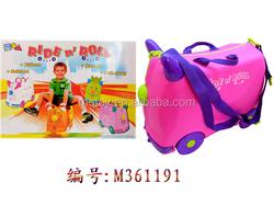 2 in 1 travel suitacase children cartoon luggage