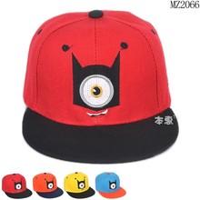 MZ2066 New trendy hip hop eye baseball hats for children 2015