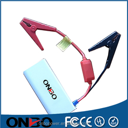 ONBO 2015 top sale mini portable 12v battery power booster car battery jump starter car jump starter power bank for car