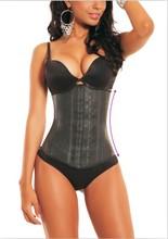 latex underbust waist cincher trainer corsets and bustier for woman steel bones corset sport shaper corselet