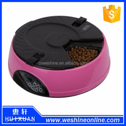 New 6 Meal LCD Digital Automatic Pet Feeder For Cat Feeder/dog Feeder