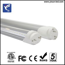 ETL listed T8 fluorescent led tube 9W 12W 18W 22W 28W 36W
