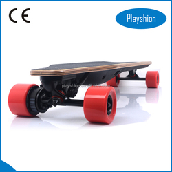 Ultra-long battery life Remote control electric skateboard 1200W top speed 30KM/H