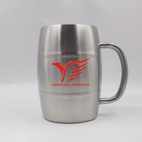 500ml most fashion stainless steel bulk chinese tea coffee cups