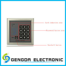 Hot selling! high sensitive rfid access control system for apartment