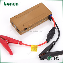 12V Peak 400A 2015 new products The world's slimmest lithium battery car jump starter BJ306