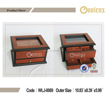 Shenzhen High Quality Eco-friendly Inlaid Wooden Jewelry Box (BV&SGS)
