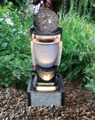 cachoeira de pedra de artesanato