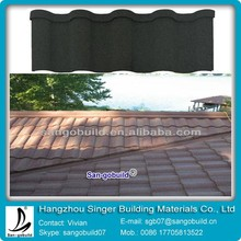 Stone Coated Chip Sheet Metal Roofing For Roofing Sheet Price