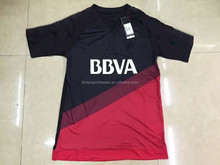 Top quality jersey 2015/16 new season red black River Plate soccer shirt