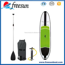 """Professional Manufacturer FREESUN 11' 6"""" Inflatable Stand-Up Paddleboard SUP, 6"""" Thick, with Pump, Paddle & Repair Kit"""