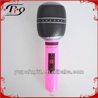 pvc inflatable microphone