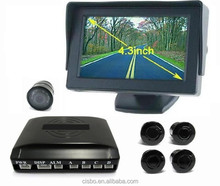 Reverse LCD Parking Video System with LCD Monitor and Night Vision Camera