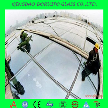 CE&ISO&CCC Clear Impact Resistance 3.2mm Tempered Solar Glass