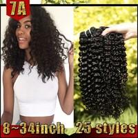 Afro Kinky Curly Human Hair For Braiding Ethiopian Human Hair