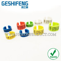 2014 Economy Clip Rings for chicken,grade plastic chicken leg ring