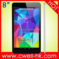 Original Cube Talk 8X 8 inch Android 4.4 WCDMA 3G Phone Call Tablet MTK8392 Octa Core 2.0GHz 1GB 8GB with OTG