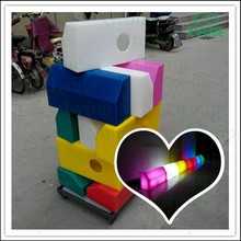 China colors curbstone associating with leds