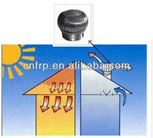 Stainless steel roof no power fan ventilator