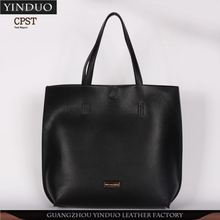 Hotselling Custom Shape Printed Ladies Very Cheap Genuine Leather Handbags