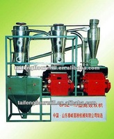 Efficient small scale wheat flour milling machine and corn flour milling machine
