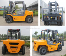 Heavy duty 5ton diesel forklift with 3- stage mast