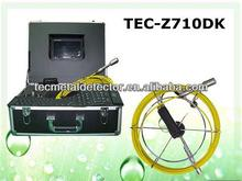 A prueba de agua de tuberías de inspección de la cámara con el teclado, cámara de inspección tubería tec-z710dk