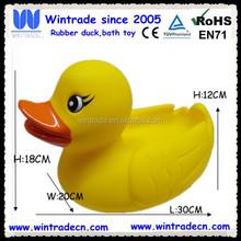 Large size big duck rubber duck 30cm