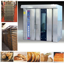 High efficient 32 trays hot air rotary furnace bread oven with low investment and low energy consumption