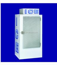 Indoor/outdoor bagged Ice StorageBin/Ice Merchandiser , ice shop equipment