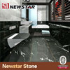 Black margiua Polished marble tile for floor